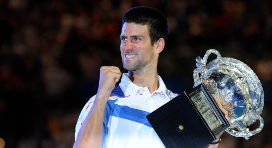 Novak Djokovic 2011 Australian Open champion