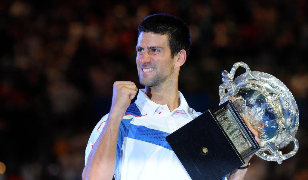 Novak Djokovic 2011 Australian Open champion