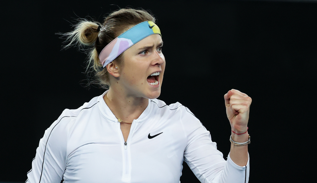 Elina Svitolina delighted