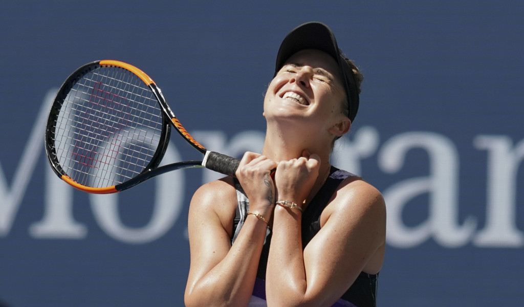 Elina Svitolina delighted