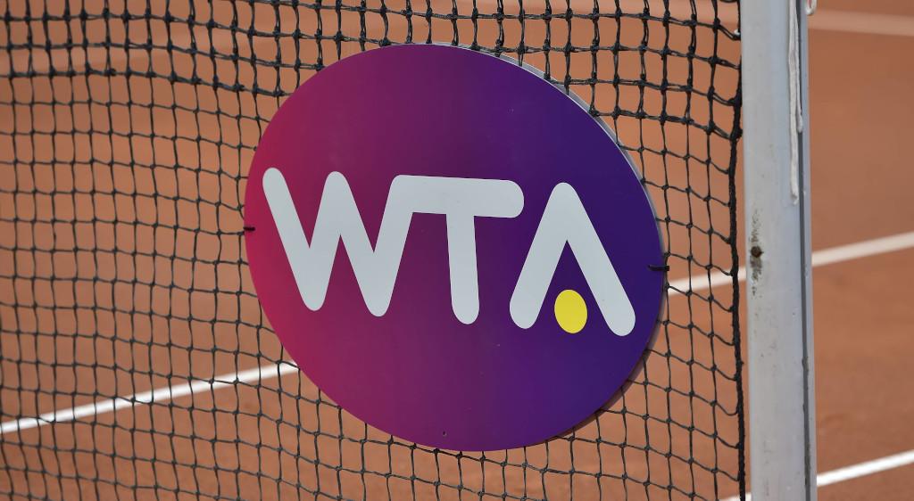 WTA Tour sign / logo