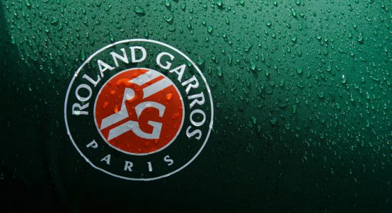 Roland Garros sign/logo