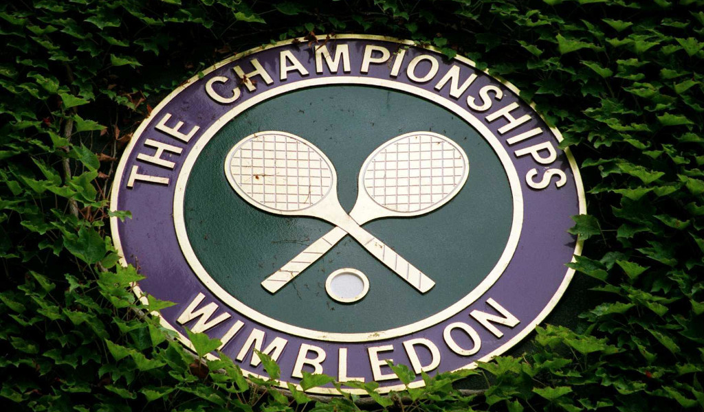 Wimbledon logo sign