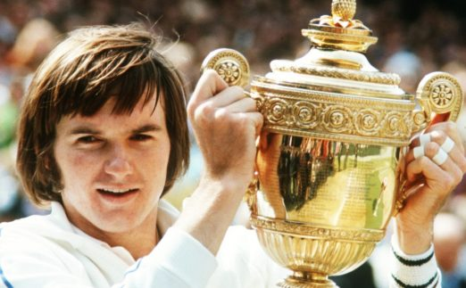 Jimmy Connors Wimbledon trophy