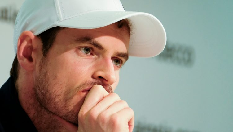 Andy Murray pensive