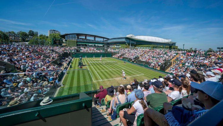Wimbledon grass