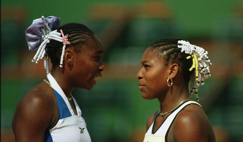 Venus Williams and Serena Williams in 1999