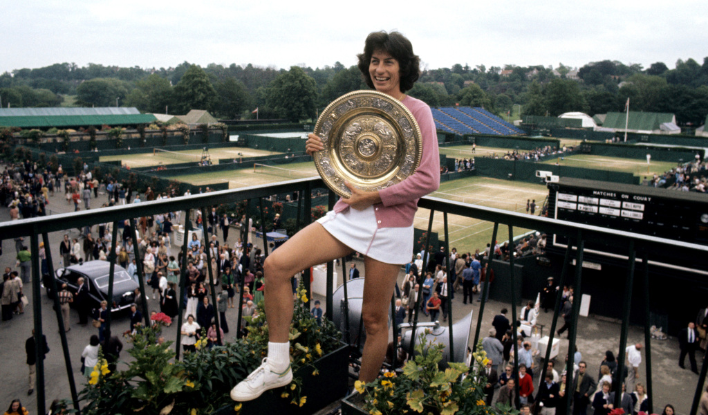 Virginia Wade 1977 Wimbledon