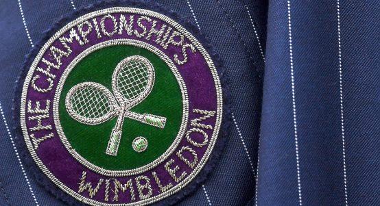 Wimbledon badge/logo/sign