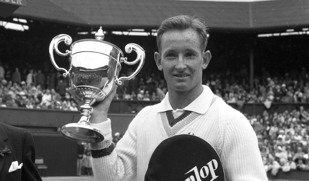 Rod Laver Wimbledon champion