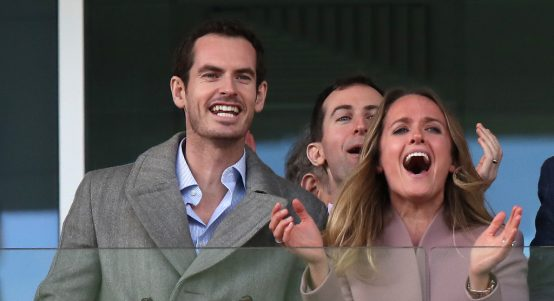 Andy Murray and Kim Murray