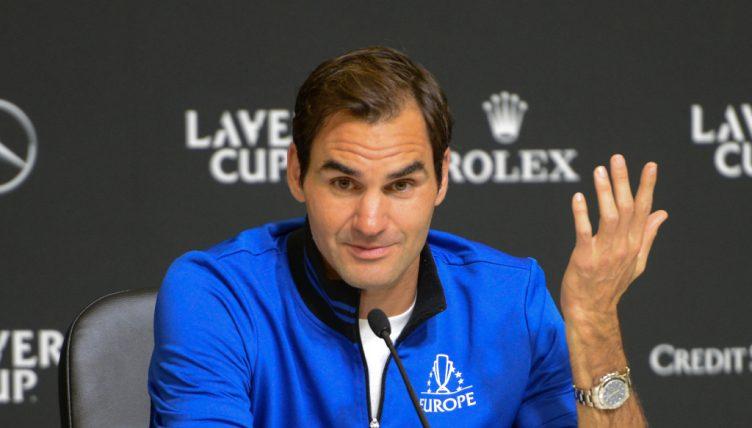 Roger Federer Laver Cup press conference