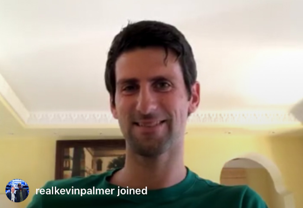 The Novak Djokovic and Andy Murray show: Pair build their perfect tennis player on Instagram chat