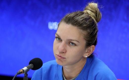 Simona Halep press conference