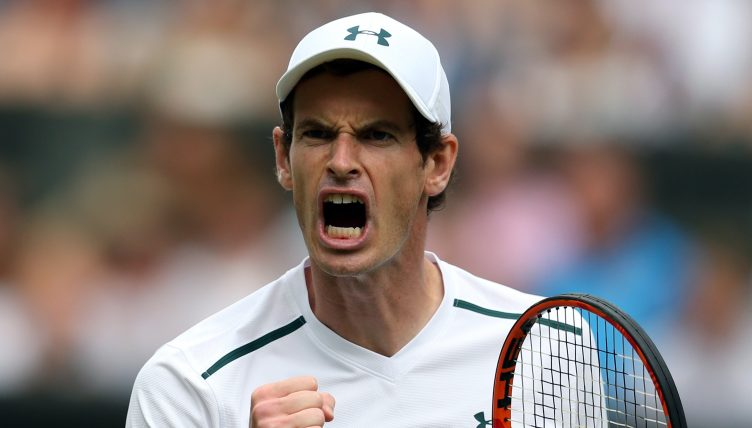 Andy Murray scream