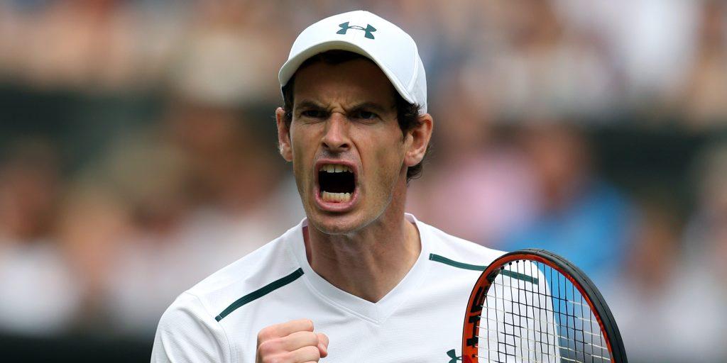 Andy Murray scream