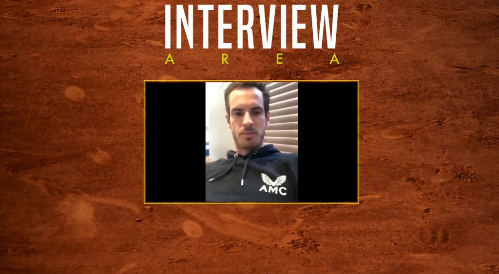 Andy Murray Madrid Open Virtual champion interview