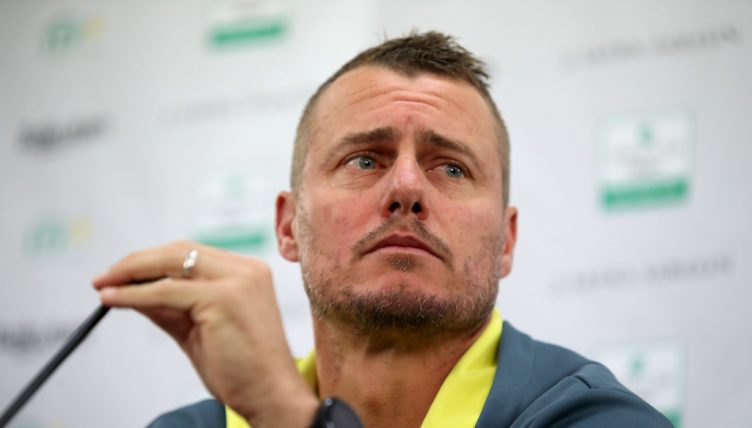 Lleyton Hewitt press conference