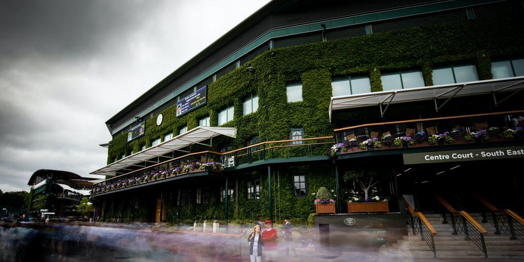 Gloomy Wimbledon