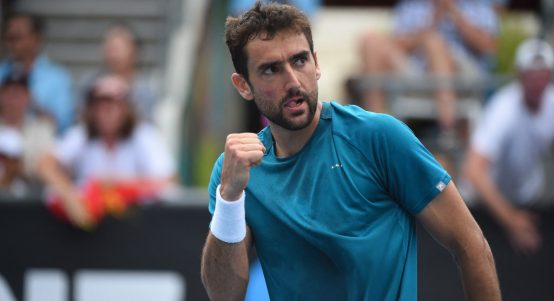 Marin Cilic fist pump