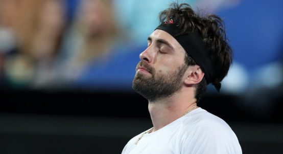 Nikoloz Basilashvili in action
