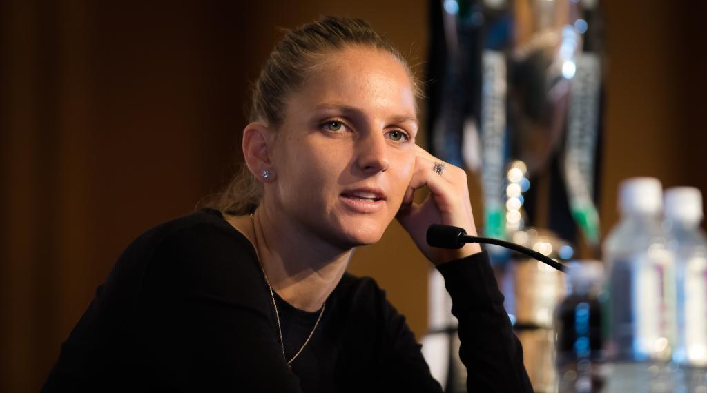Karolina Pliskova interview