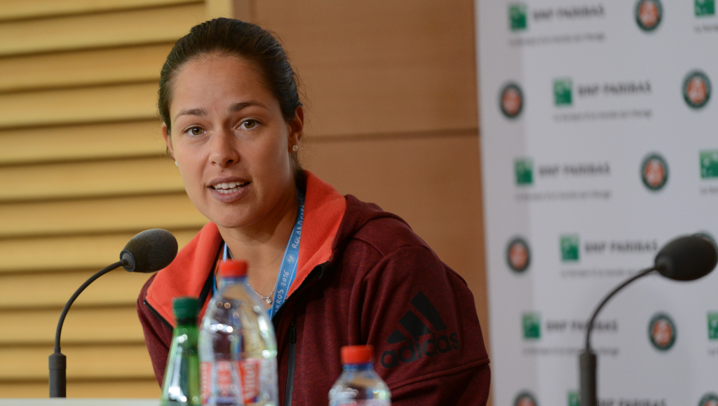 Ana Ivanovic press conference