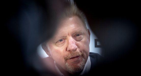 Boris Becker through a lens