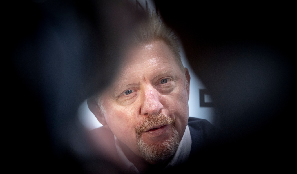 Boris Becker through a lens