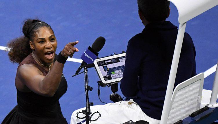 Serena Williams US Open Carlos Ramos