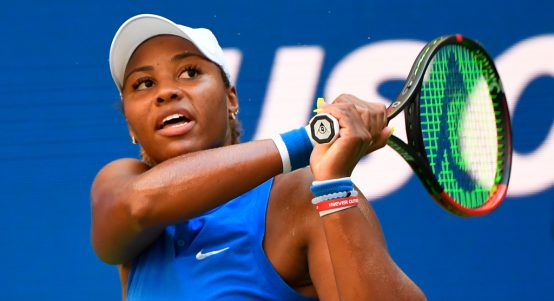 Taylor Townsend in action