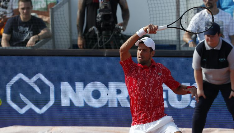 A Win And A Defeat For Novak Djokovic As He Returns At Adria Tour In Belgrade Tennis365 Com