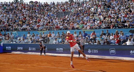 Novak Djokovic Adria Tour crowds
