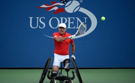 US Open wheelchair tennis
