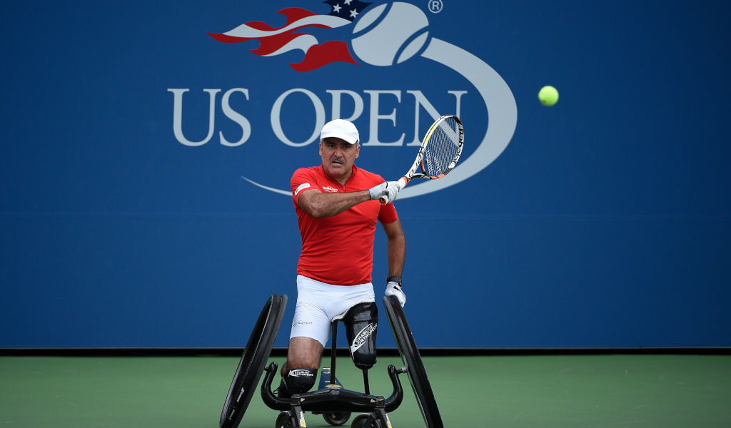 US Open wheelchair tennis