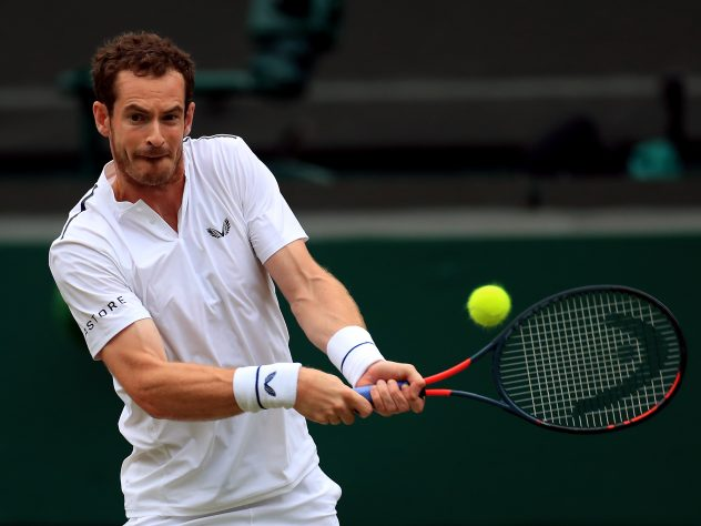 Andy Murray had not played since November prior to this week (Mike Egerton/PA).
