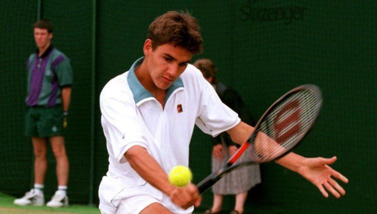 Roger Federer Wimbledon 1998