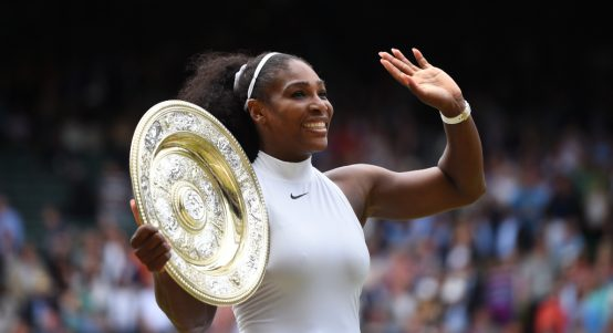 Serena Williams. 2016 Wimbledon champion