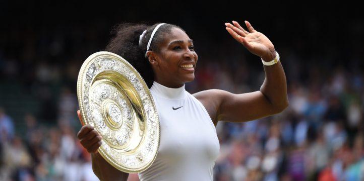 Serena Williams 2016 Wimbledon champion