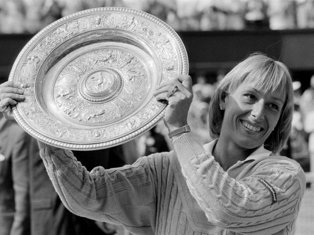 Martina Navratilova enjoyed huge success at Wimbledon during her career