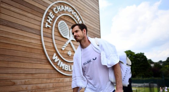 Andy Murray at Wimbledon