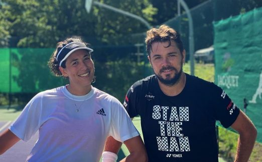 Garbine Muguruza and Stan Wawrinka on Instagram