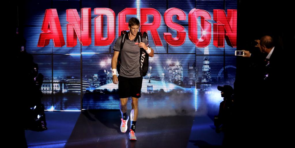 Kevin Anderson entrance