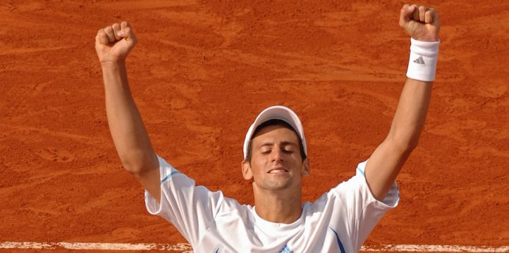 Novak Djokovic in 2006