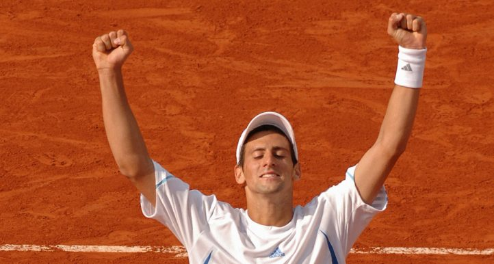 Novak Djokovic in 2006