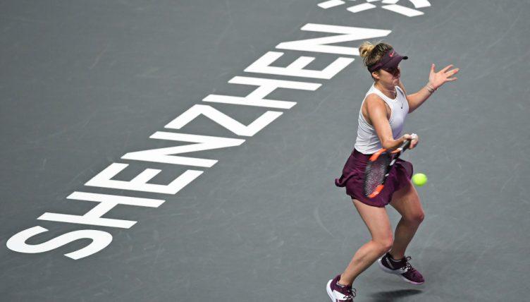 WTA Finals Shenzhen Elina Svitolina