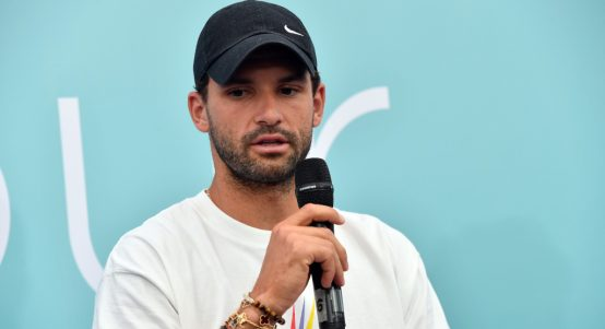 Grigor Dimitrov press conference