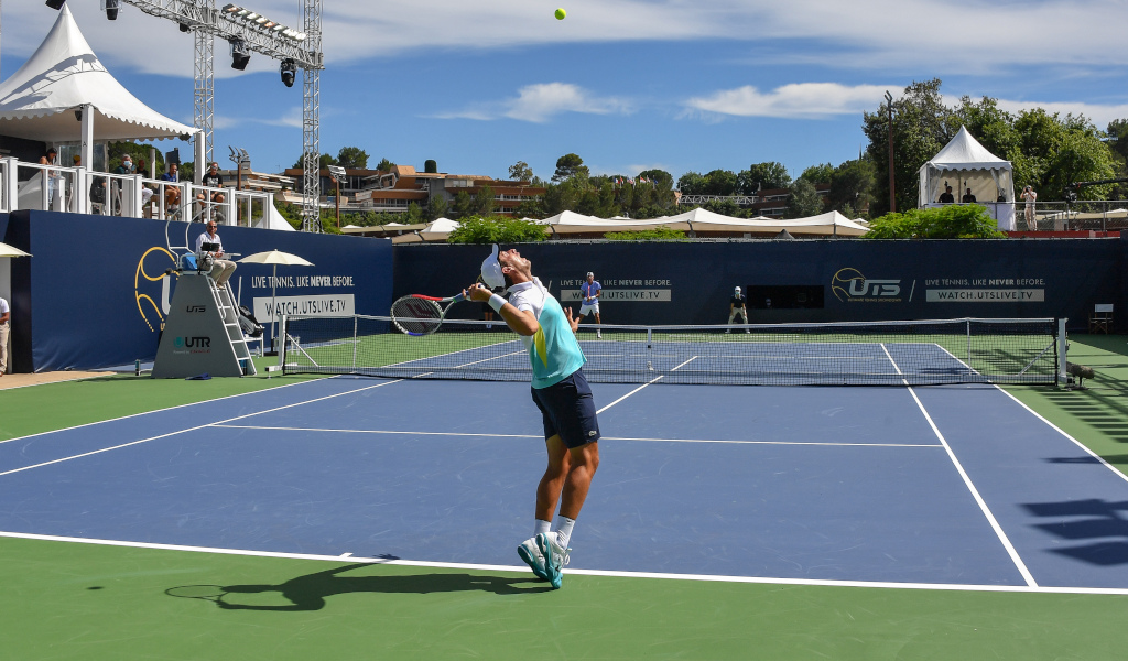Patrick Mouratoglou's Mouratoglou Academy in Nice France from PA