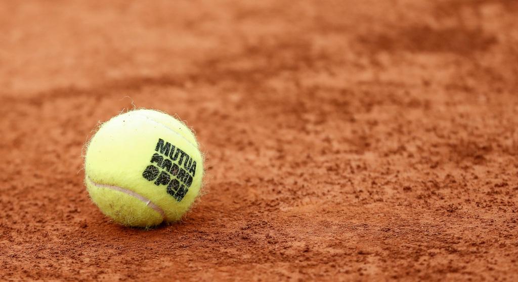 Madrid Open tennis balls