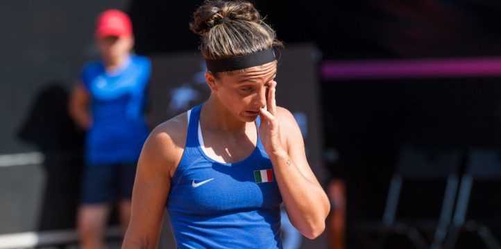 Sara Errani disappointed